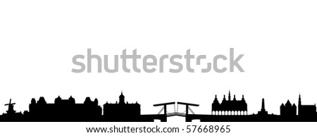 Skyline of Amsterdam
