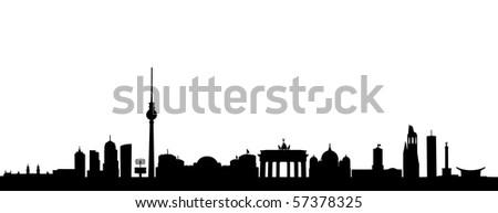 Skyline of Berlin