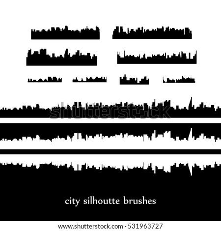 skylines vector city