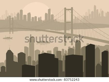 skyscraper city landscape