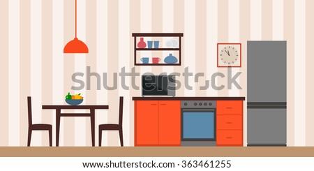 sleek modern design kitchen