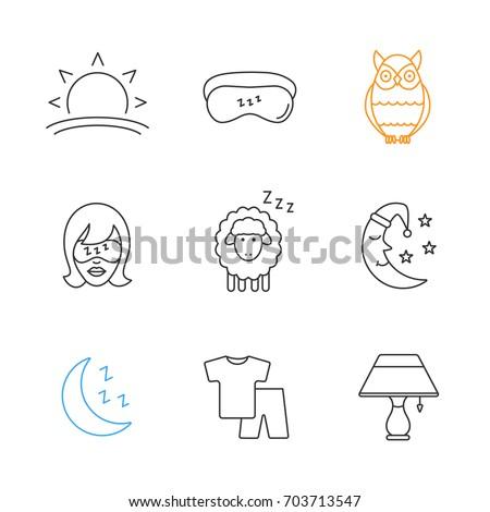 sleeping accessories linear