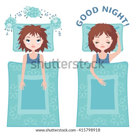 sleepless woman character