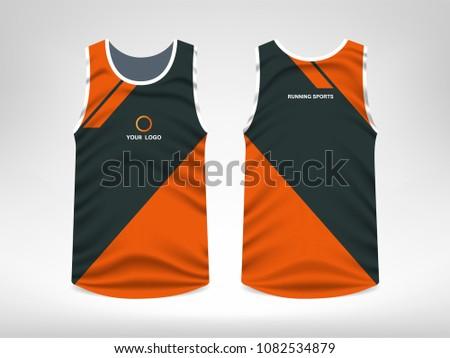 Sleeveless Sport T-shirt Design