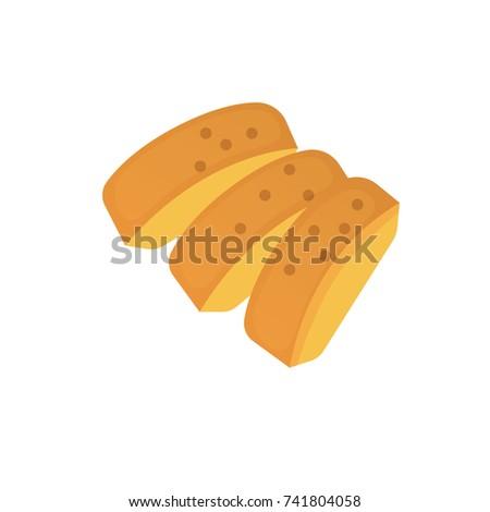 slices of sliced bread cartoon