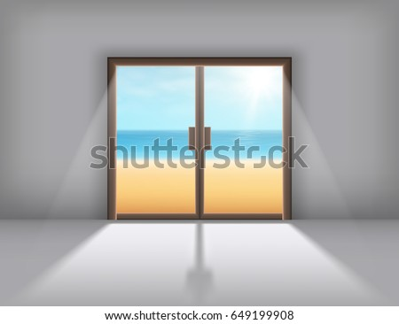 sliding doors with the outgoing