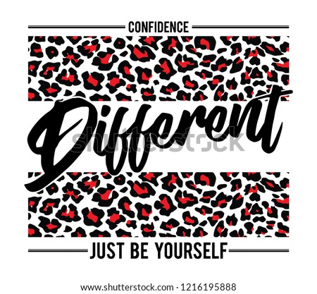 Slogan, Different Illustration Graphic Vector. - Vector