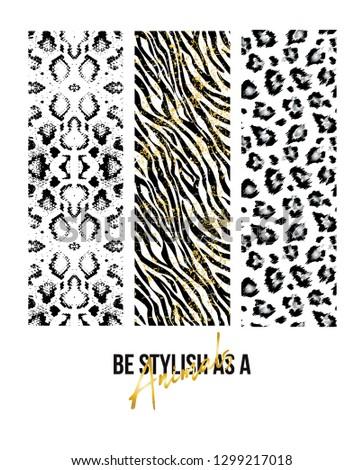 Slogan, Fashion Illustration Graphic Vector. - Vector