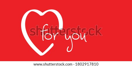 slogan for you love banner