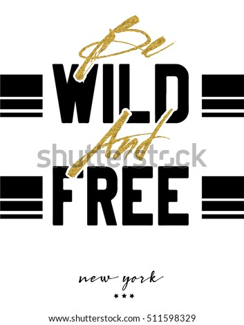 slogan new york vector print.For t-shirt or other uses,T-shirt graphics / textile graphic