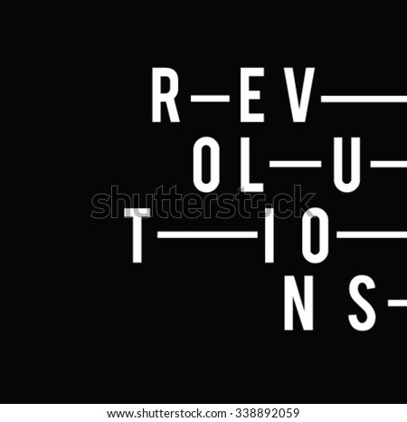 slogan printrevolution text