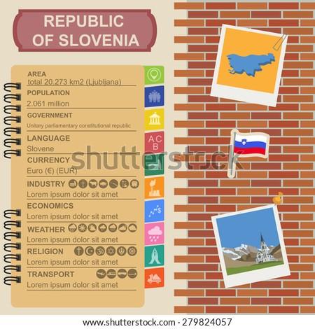 slovenia infographics