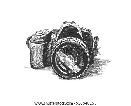 Camera Vintage Vector Png : Antique cameras download free vector art stock graphics & images