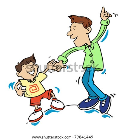 Older Brother Clipart With older brother - stockOlder Brother Clipart