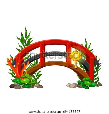 small decorative the bridge