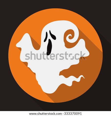small ghost icon floating in a