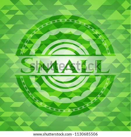 small green emblem with