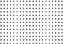 Small Grey Dots on White. Vector