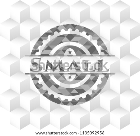 small grey emblem vintage with