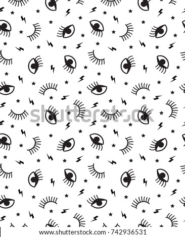 small seamless pattern with