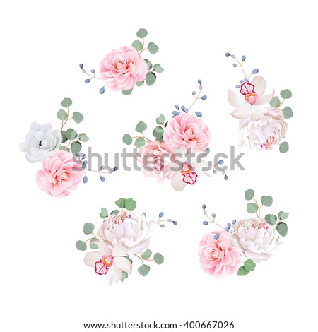 small wedding bouquets of rose