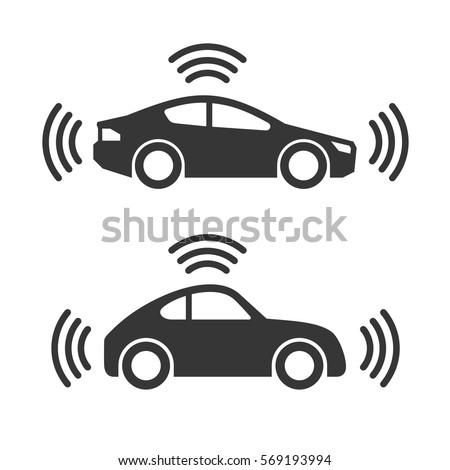 Smart Car Icon Set