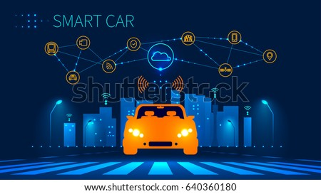 smart car wireless network