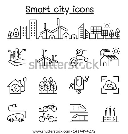 smart city  sustainable town