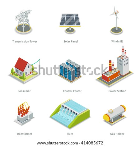 smart grid elements power