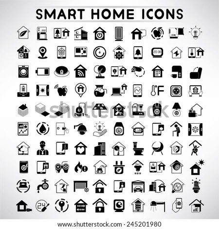 Homepage icon set gallery for Define home automation