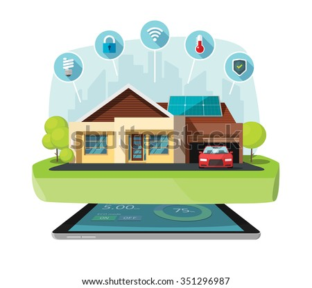 smart home modern future house