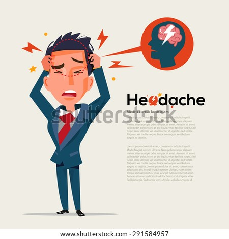 smart man get headache