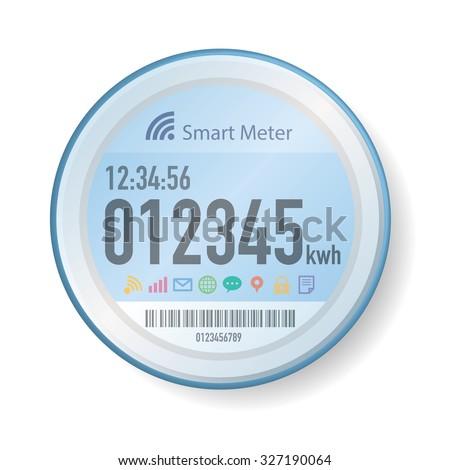 Smart Meter Illustration