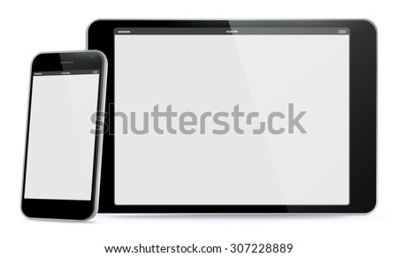 smart phone and tablet pc