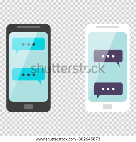 smart phone chatting sms