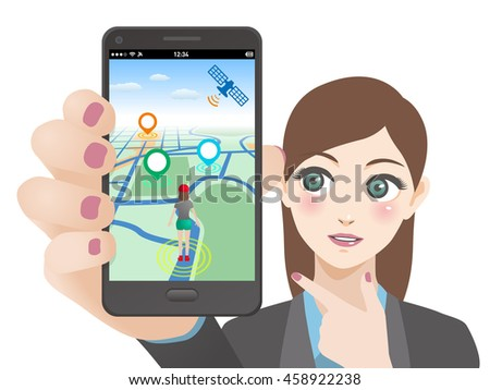 smart phone game application