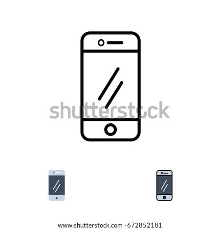 Smart Phone - icon graphic