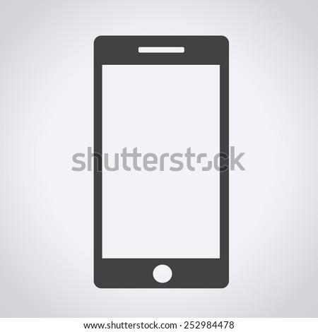 Smart Phone Mobile  icon illustration design