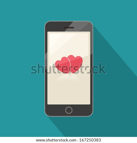 Smart phone valentine