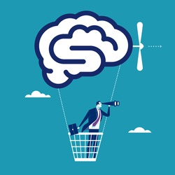 Smart Solution. Concept business vector illustration