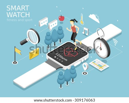 smart watch fitness and sport