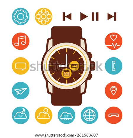 smart watch   icons  2