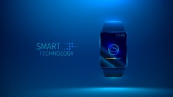 smart watch. Smart technology. vector illustration