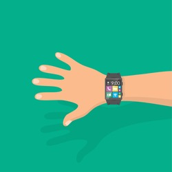 Smart watch - vector illustration