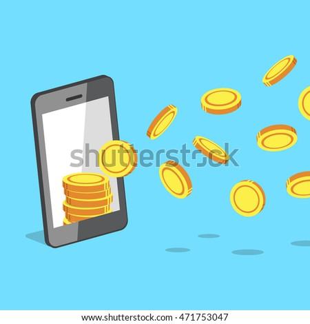 smartphone attracting money