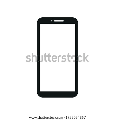 Smartphone cellphone Illustration vector icon