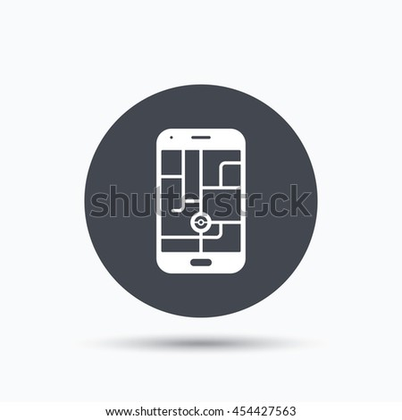 smartphone device icon go