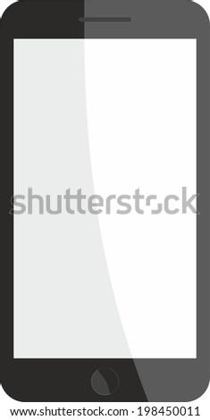 smartphone frame vector