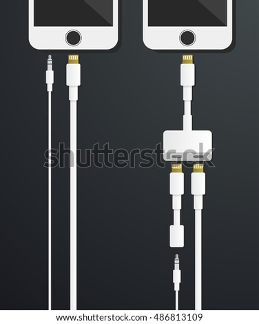 smartphone heaphones jack and