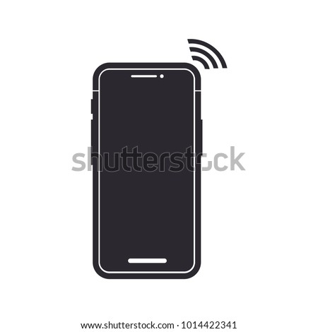 smartphone icon gadget symbol